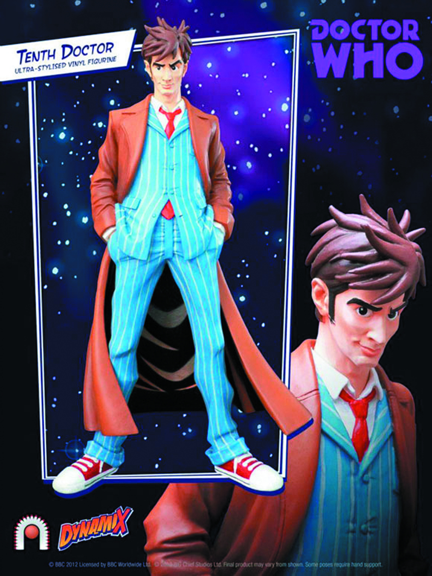 DOCTOR WHO 10TH DOCTOR DYNAMIX VINYL FIG