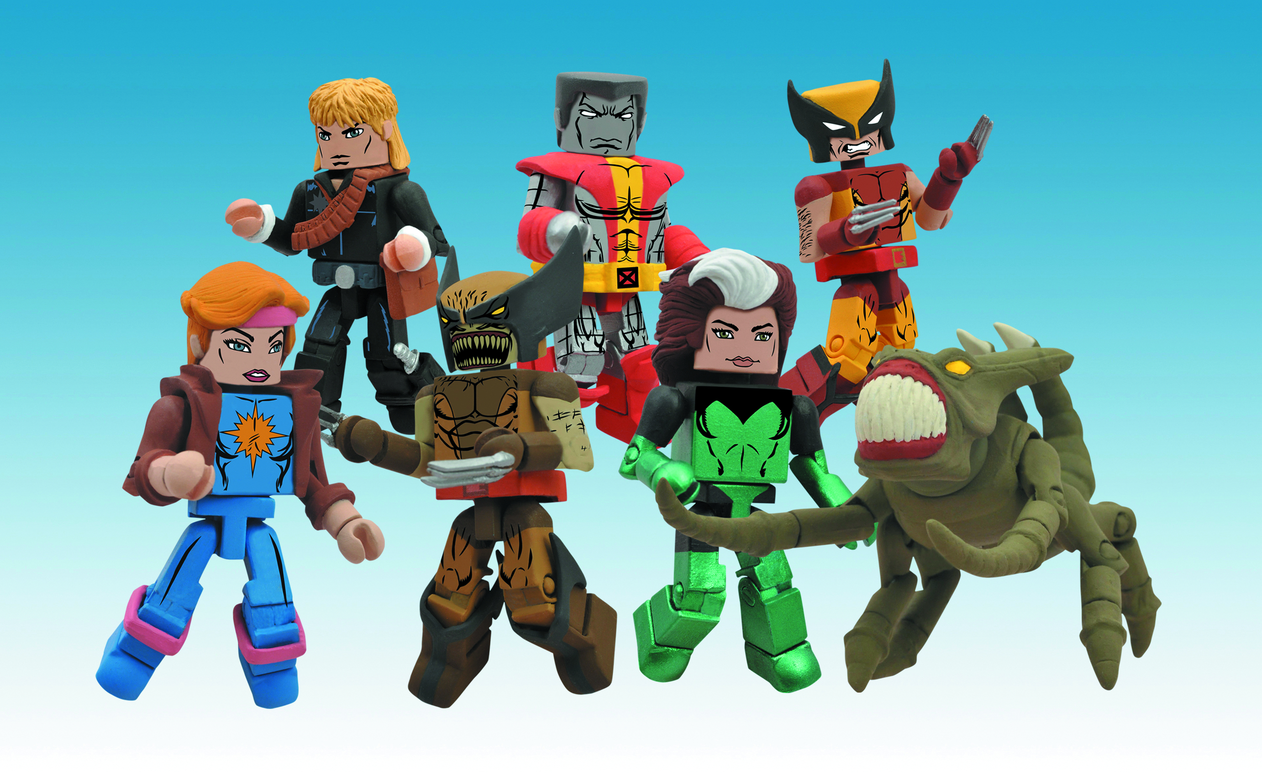 MARVEL MINIMATES SER 47 ASST X-MEN BROOD