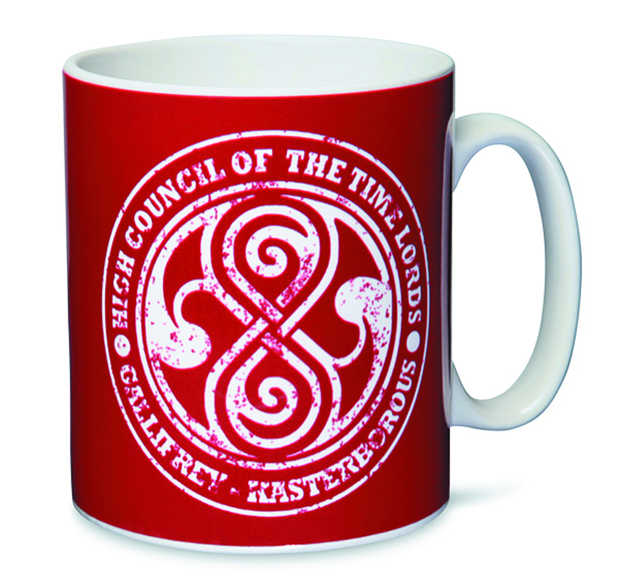 DOCTOR WHO TIMELORDS HIGH COUNCIL MUG