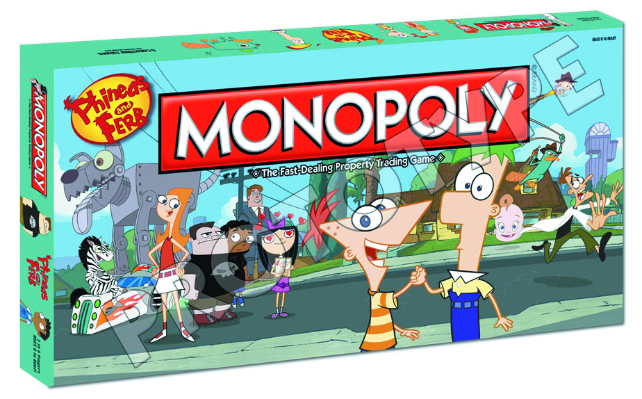 PHINEAS & FERB MONOPOLY