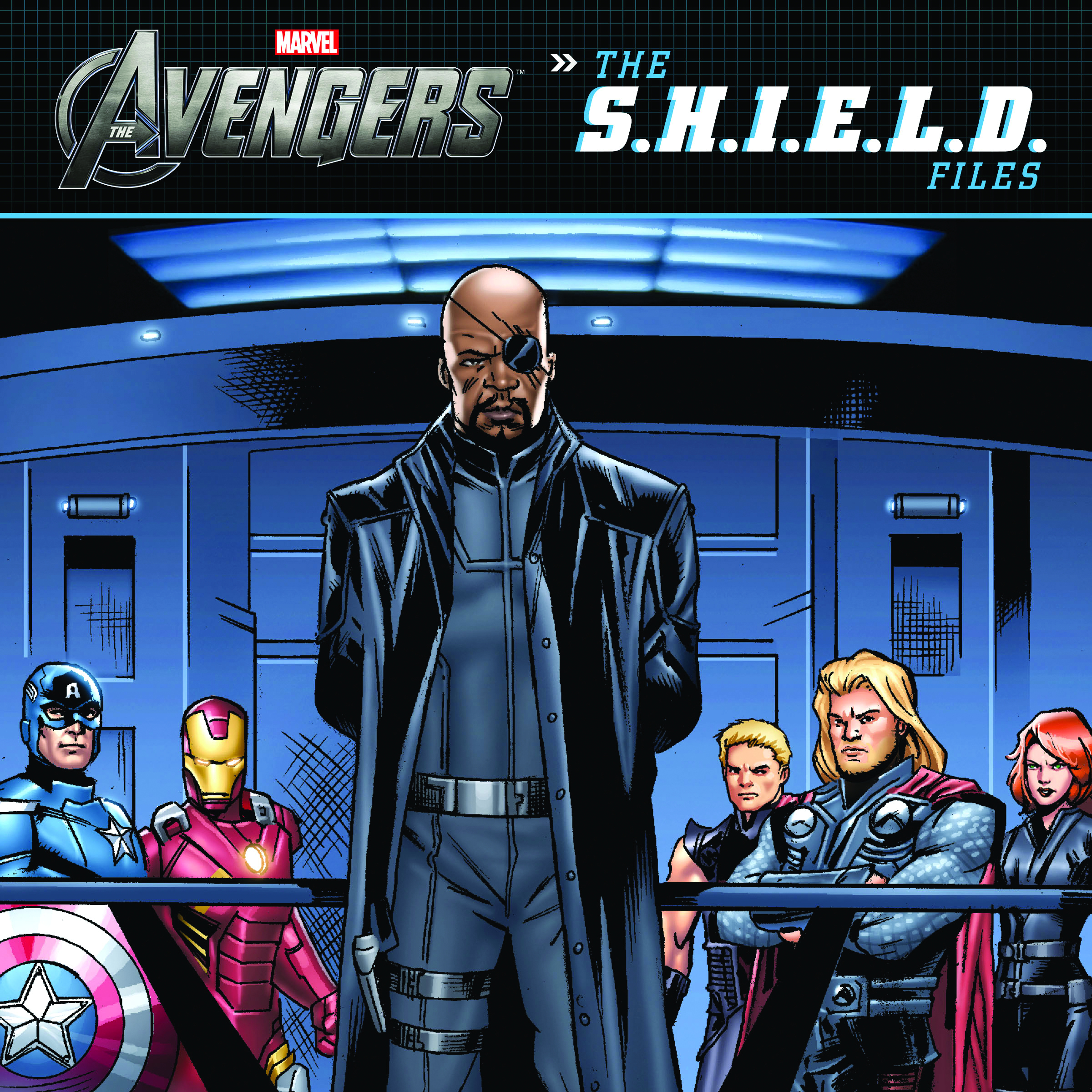 AVENGERS (MOVIE) THE SHIELD FILES JUNIOR READER