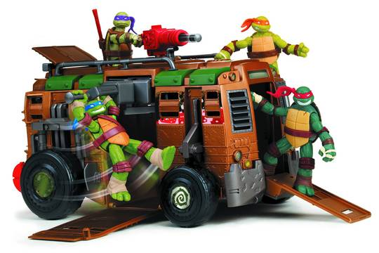 TMNT SHELLRAISER VEHICLE CS