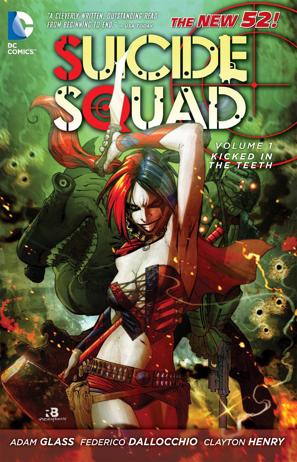 SUICIDE SQUAD TP VOL 01 KICKED IN THE TEETH