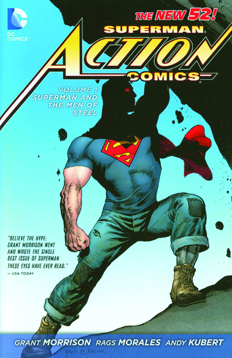 SUPERMAN ACTION COMICS HC VOL 01 SUPERMAN MEN OF STEEL