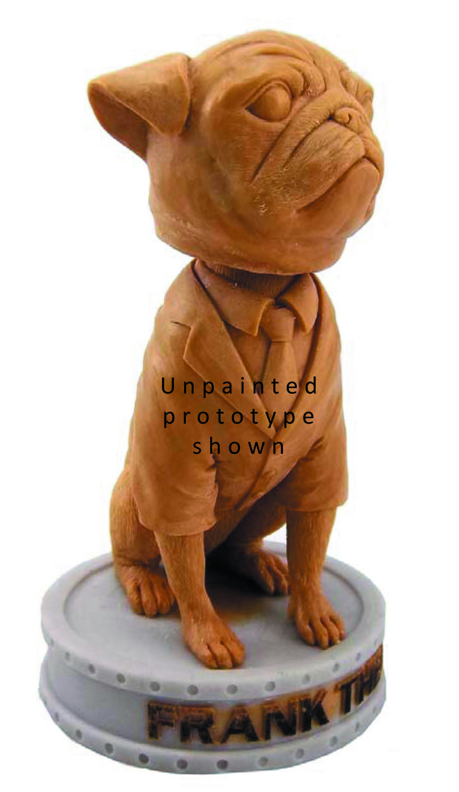 MIB FRANK THE PUG SHAKEMS BOBBLE STATUE