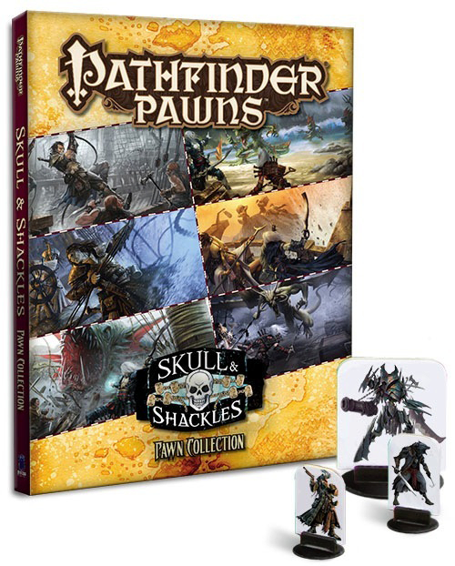 PATHFINDER SKULL & SHACKLES ADV PATH PAWN COLL