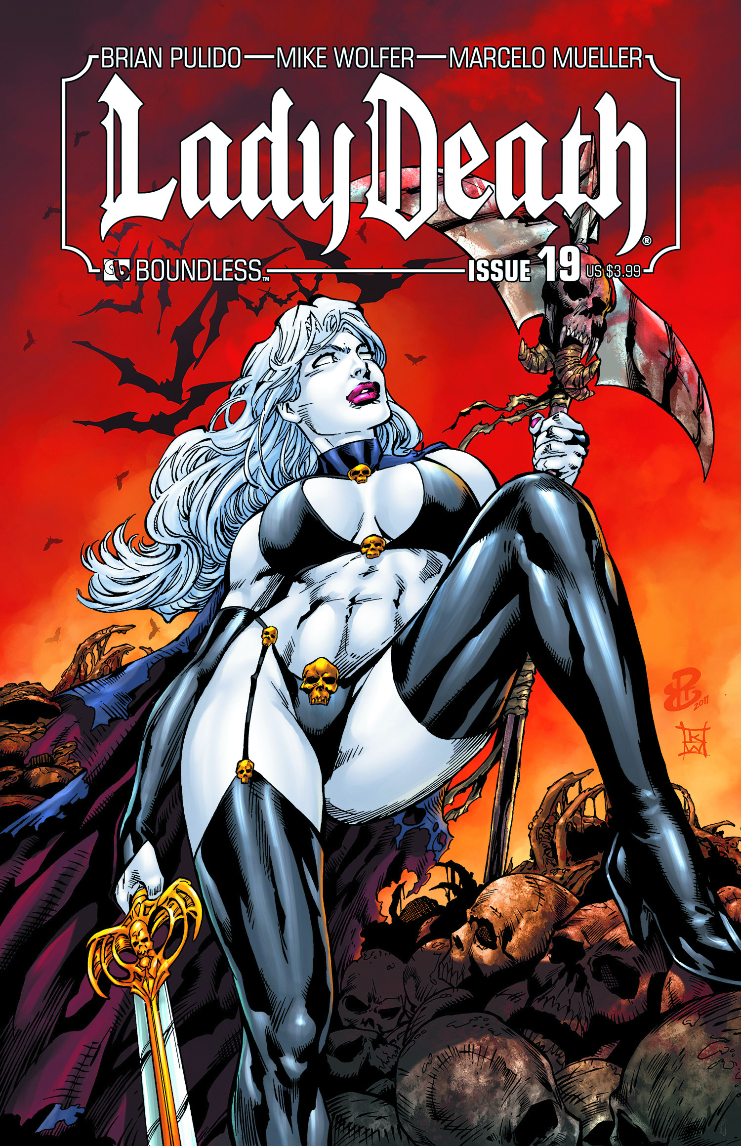 LADY DEATH (ONGOING) #19
