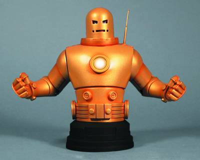GENTLE GIANT IRON MAN MKII GOLD ARMOR MINI-BUST