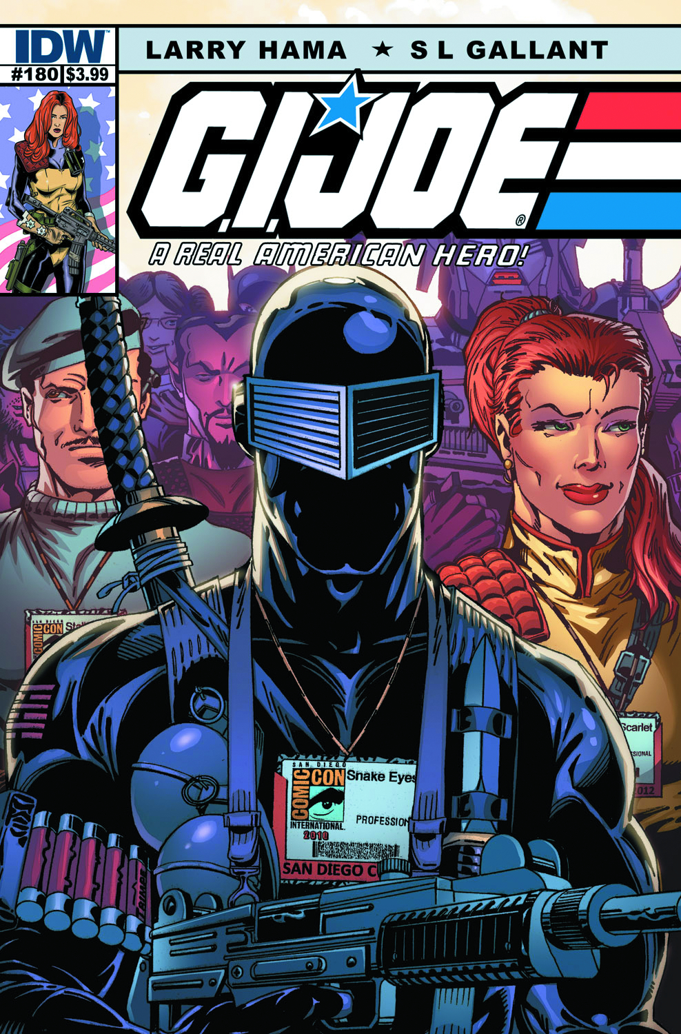 GI JOE A REAL AMERICAN HERO #180