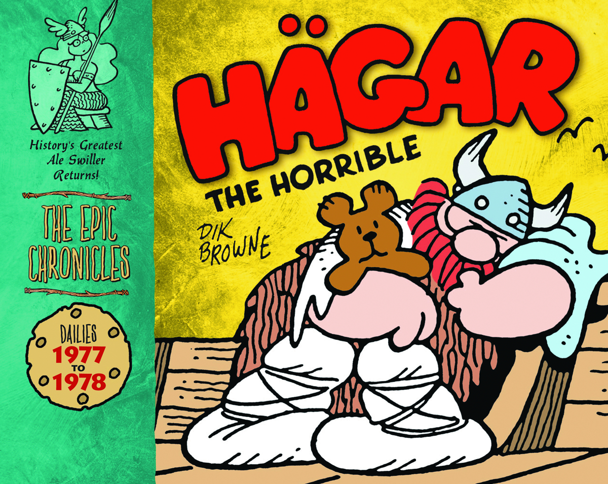 EPIC CHRONICLES HAGAR THE HORRIBLE HC 1977-78