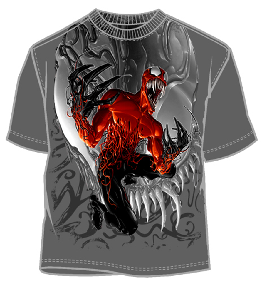 CARNAGE GUTSY CHARCOAL T/S XXL