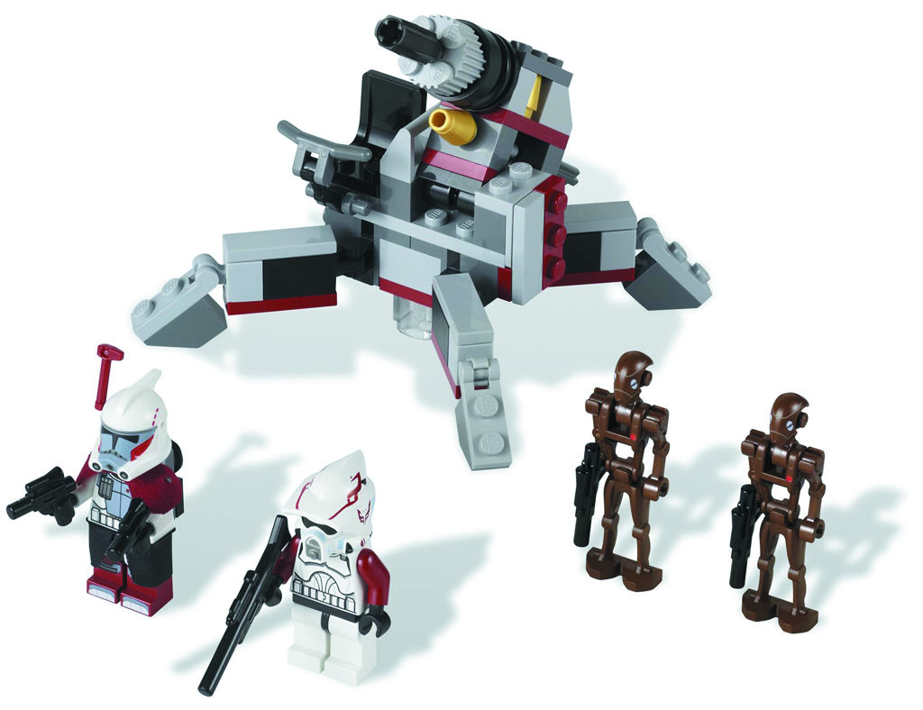 LEGO SW CLONE TROOPER/COMMANDO DROID SET