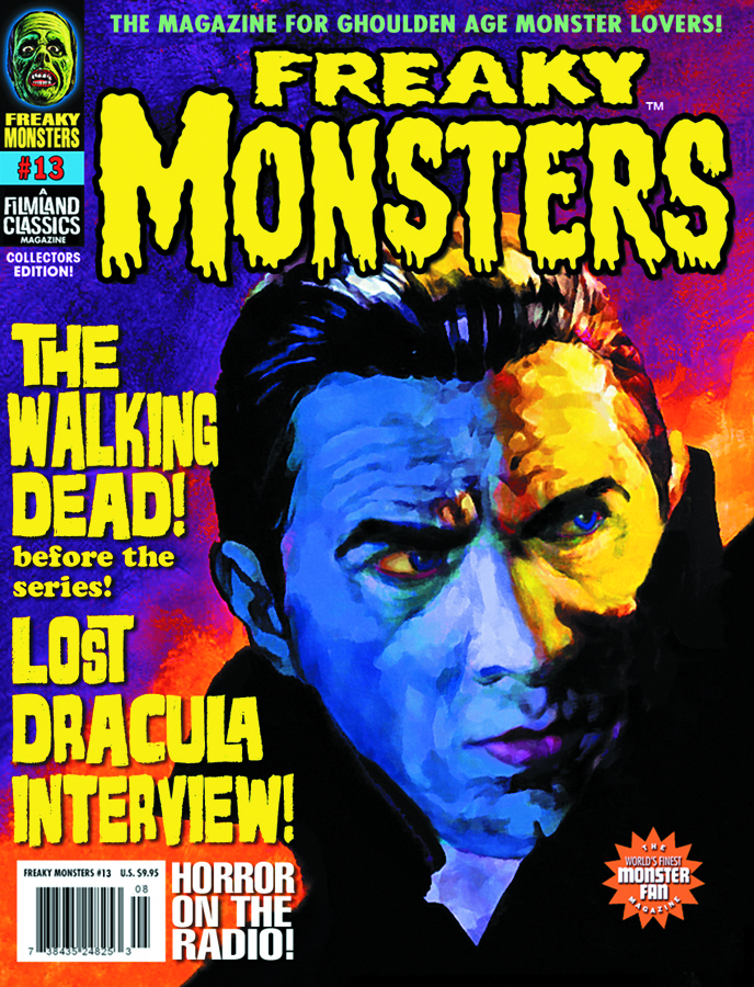 FREAKY MONSTERS MAGAZINE #13