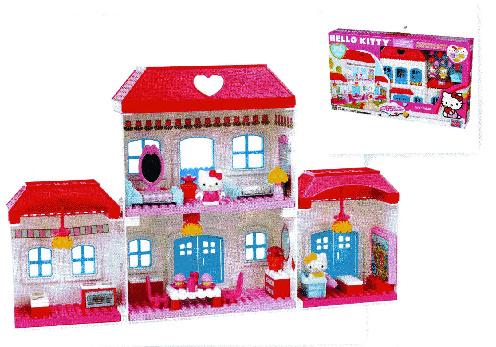 May121738 Mega Bloks Hello Kitty Dream House Set