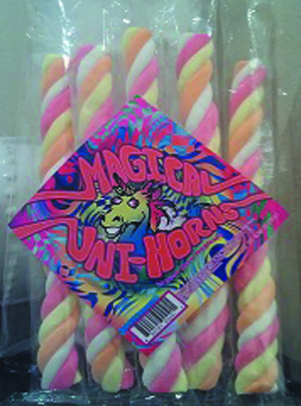 MAGICAL UNI-HORNS MARSHMALLOW SNACK 12 PACK