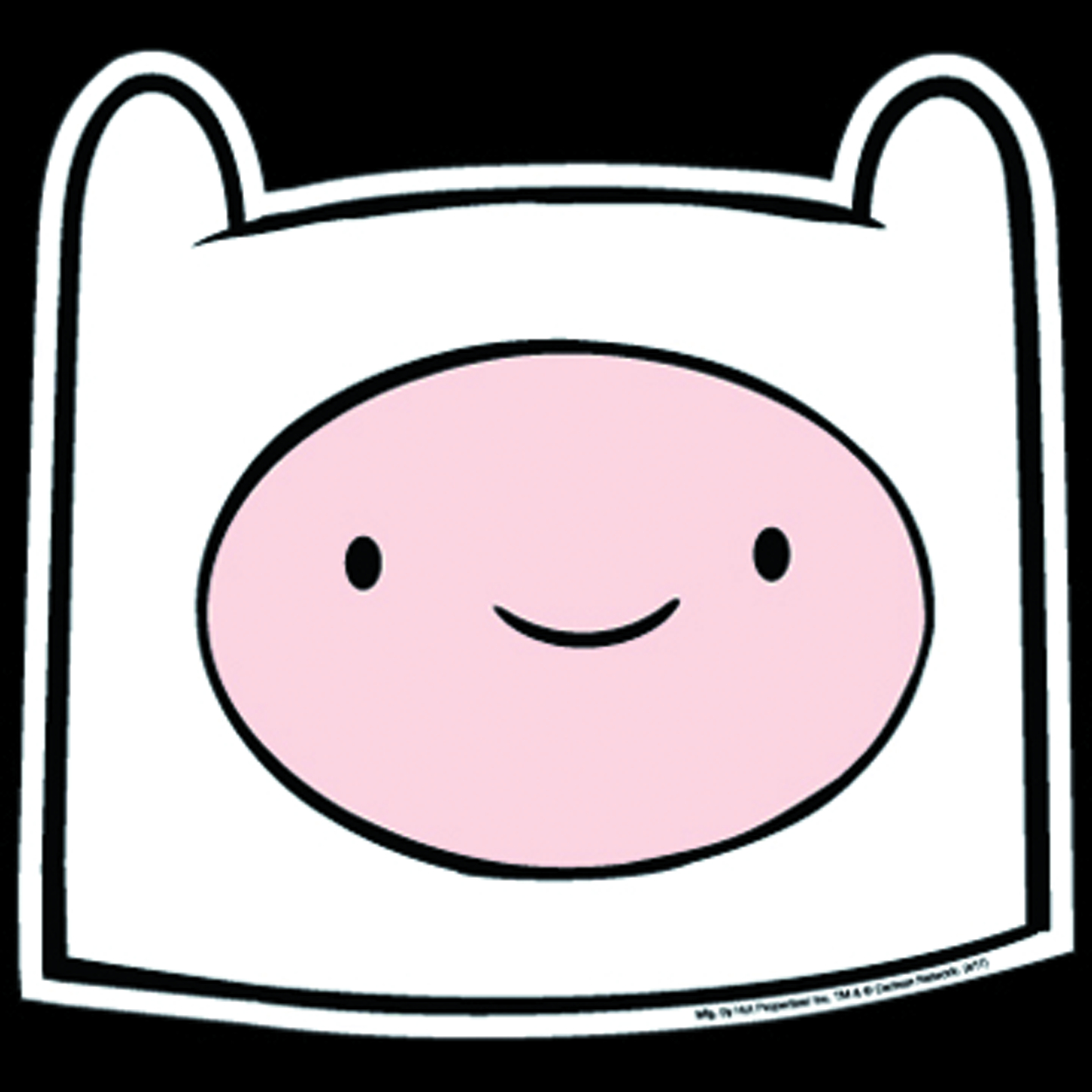 ADVENTURE TIME FINN HEAD CAR MAGNET