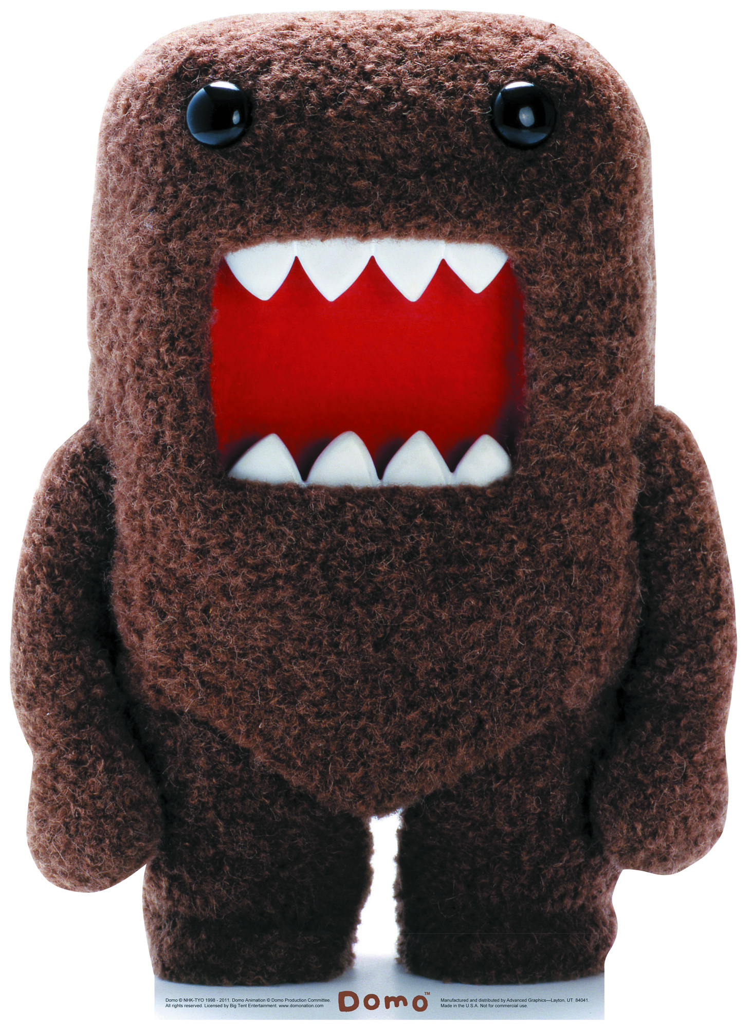 DOMO LIFE-SIZE STANDUP