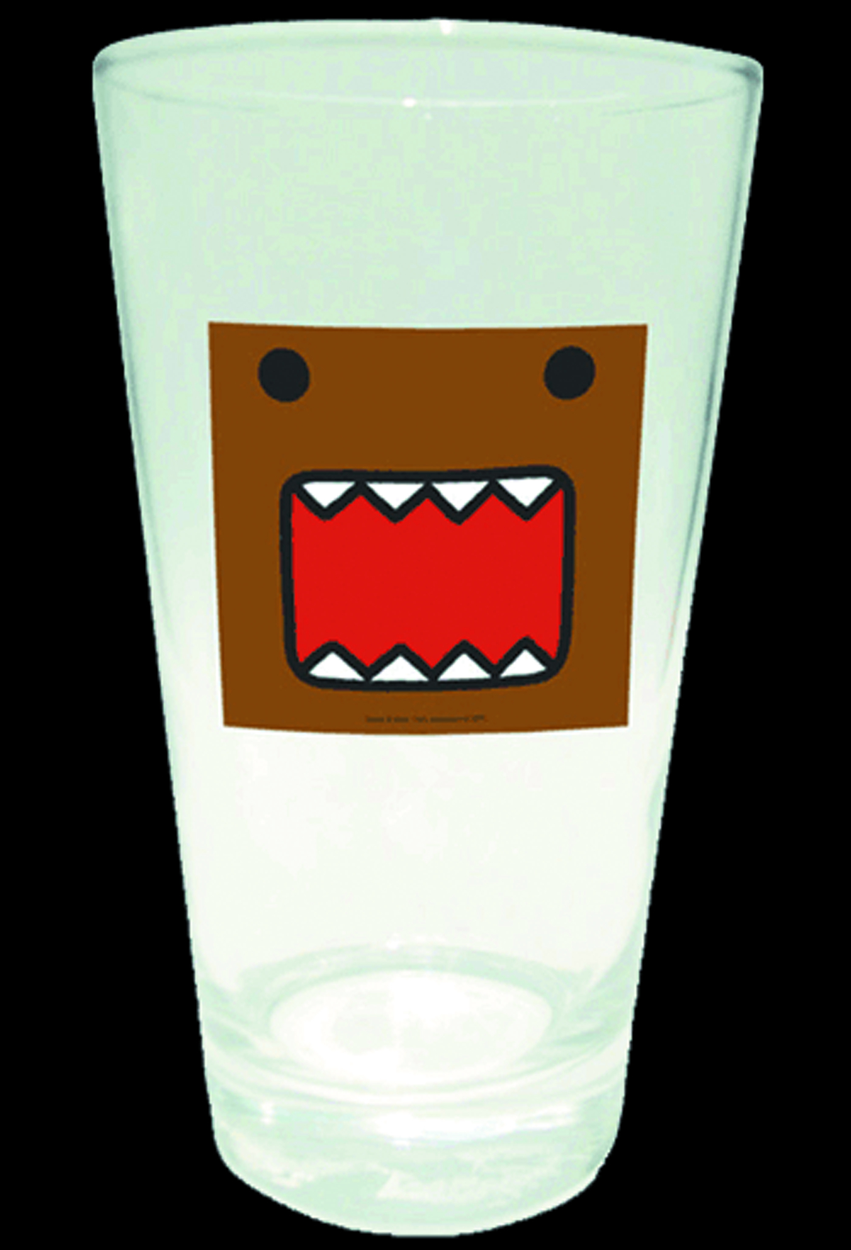 DOMO SQUARE PINT GLASS