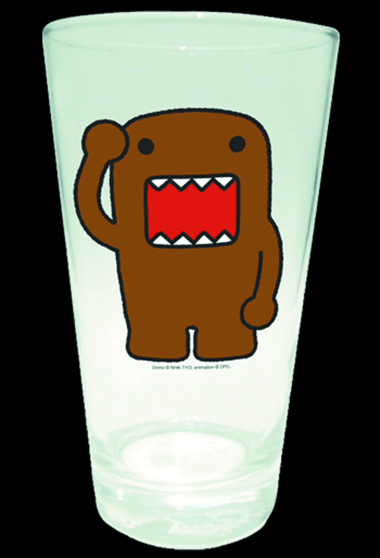 DOMO ARM UP PINT GLASS