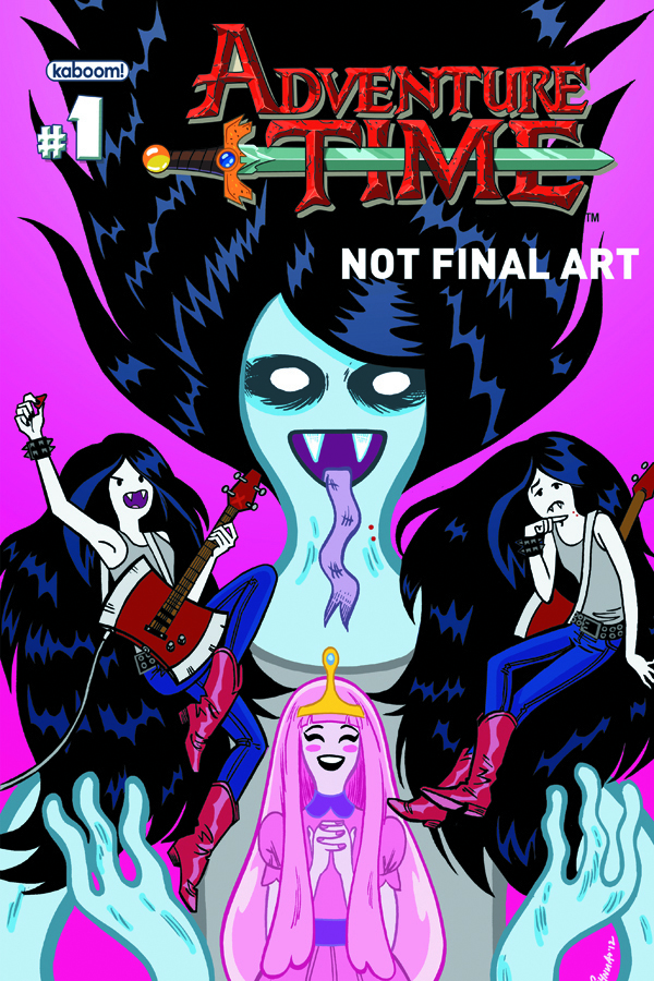 (USE JUN128134) ADVENTURE TIME MARCELINE SCREAM QUEENS #1 MA