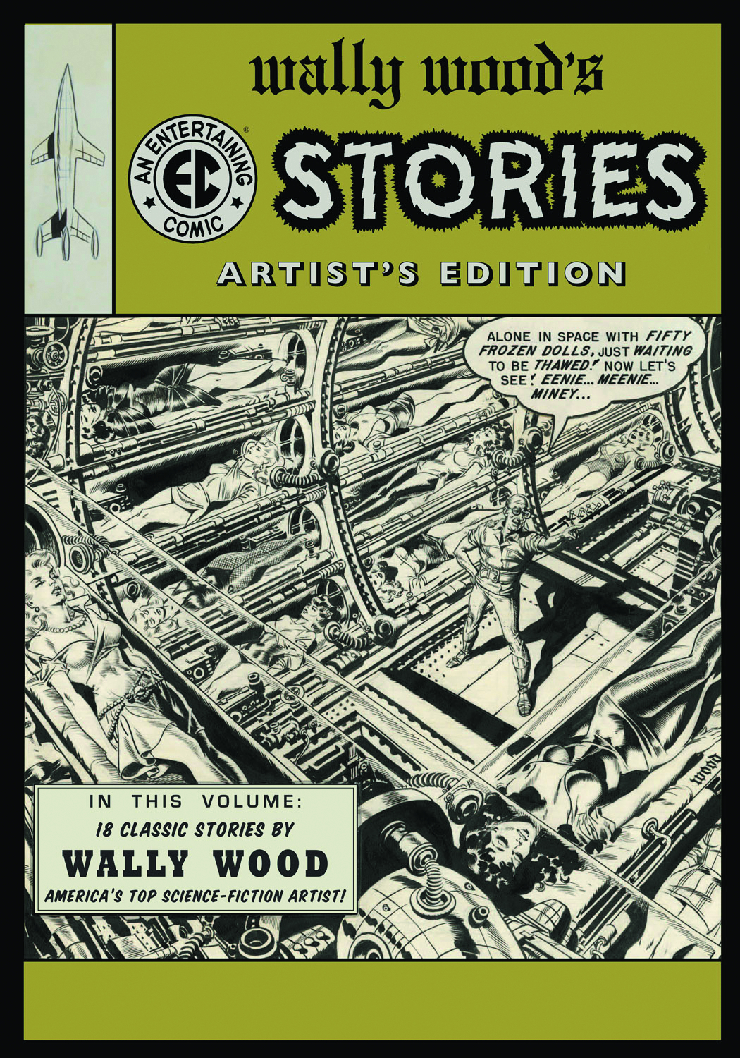WALLY WOOD EC STORIES ARTIST ED HC 2ND PTG (NEW CVR)