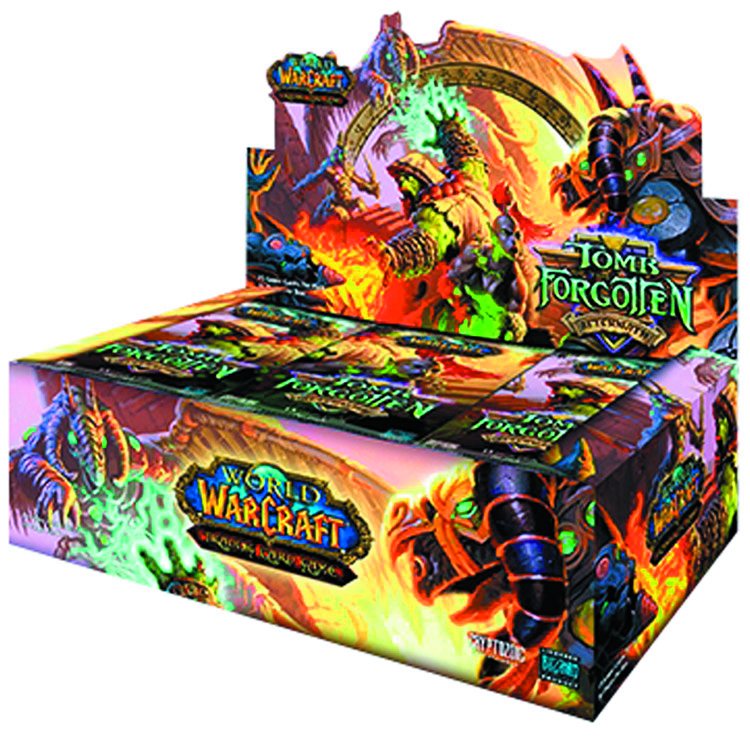 WOW TCG AFTERMATH TOMB FORGOTTEN BOOSTER PACK DIS