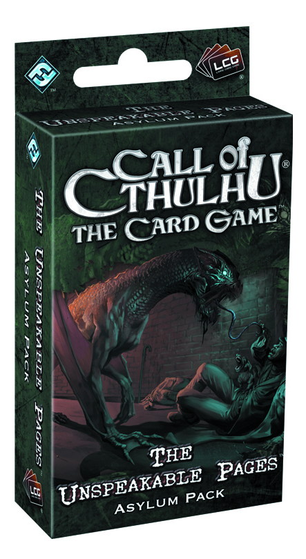CALL CTHULHU LCG UNSPEAKABLE PAGES ASYLUM PACK