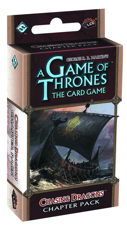 GAME THRONES LCG CHASING DRAGONS CHAPTER PACK