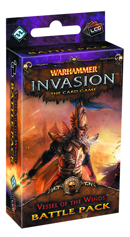 WARHAMMER INVASION LCG VESSEL OF THE WINDS BATTLE PACK
