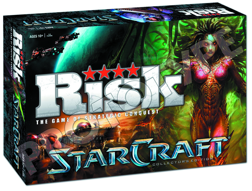 RISK STARCRAFT COLLECTORS ED