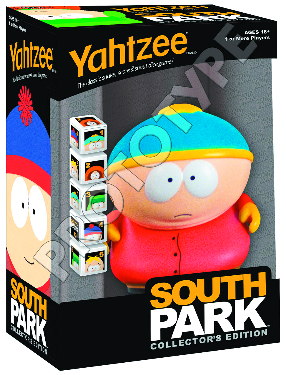 SOUTH PARK COLLECTORS EDITION YAHTZEE