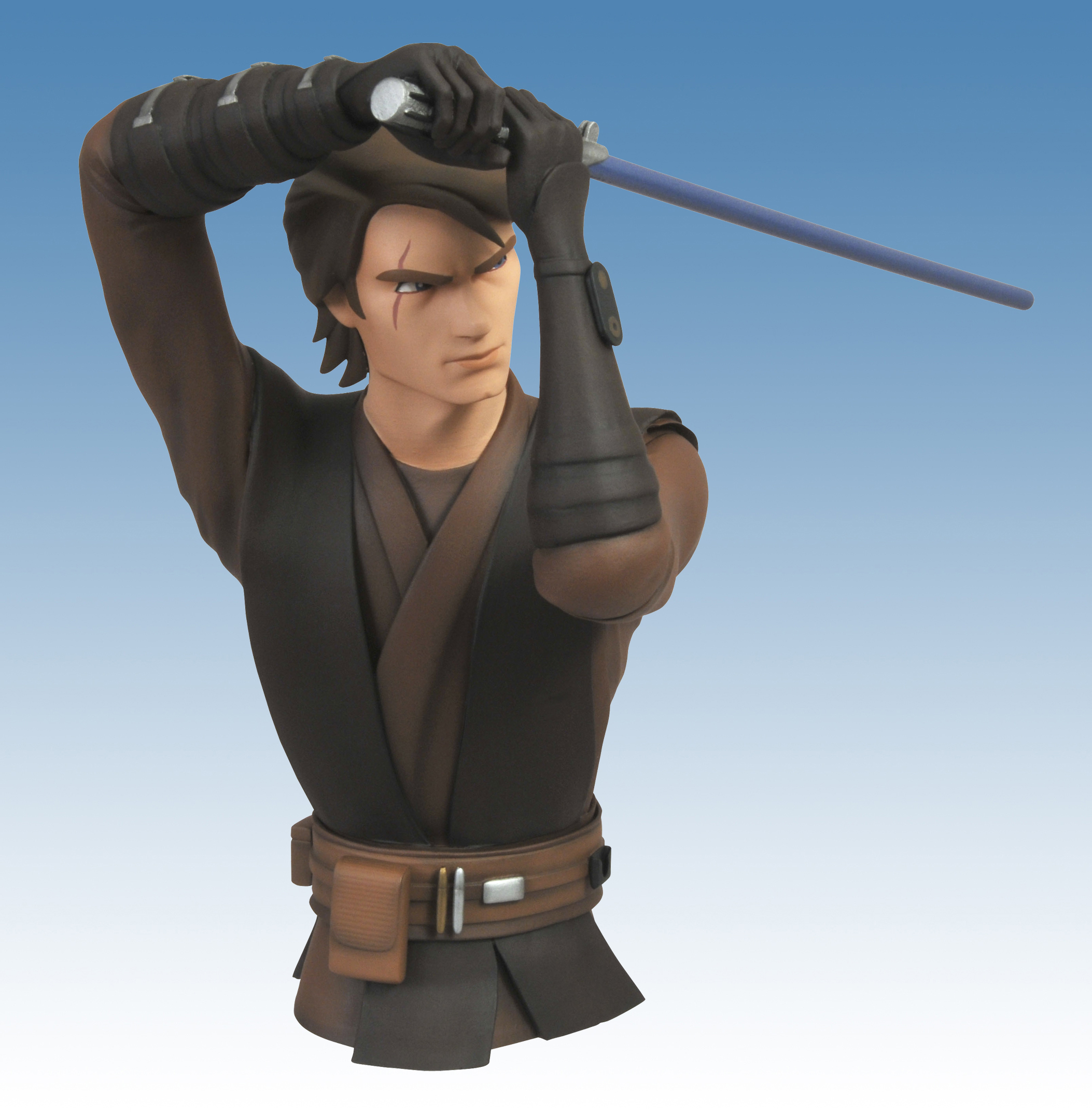STAR WARS CLONE WARS ANAKIN BUST BANK