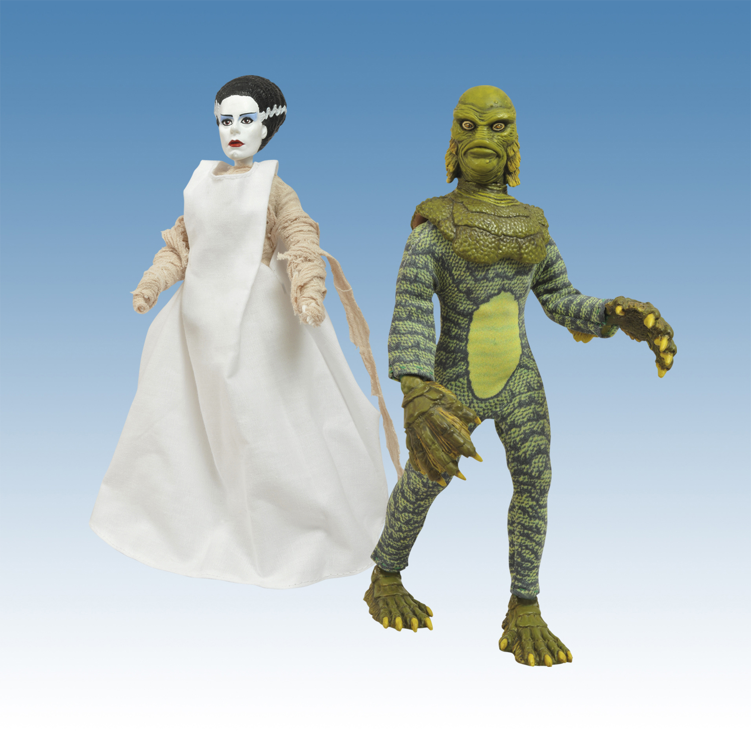 UNIVERSAL MONSTERS RETRO CLOTH SERIES 3 AF ASST
