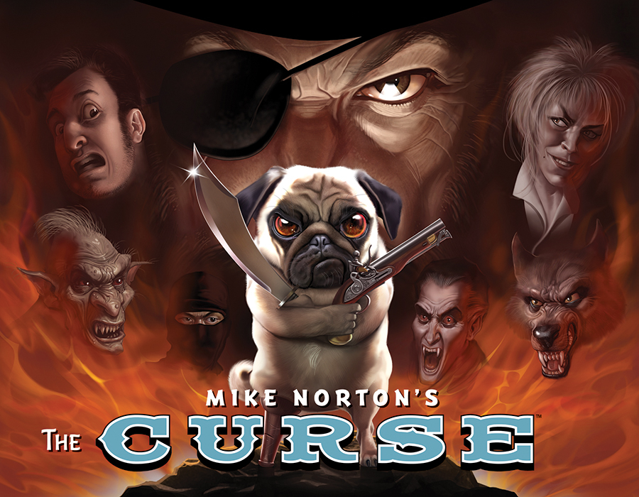 MIKE NORTONS CURSE GN