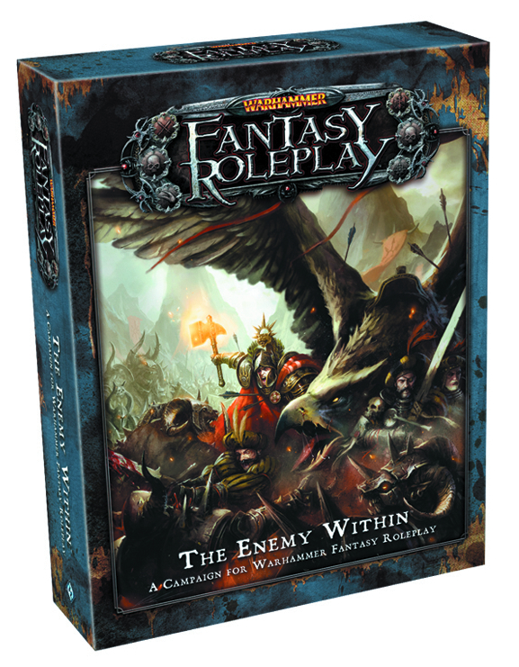 WARHAMMER FANTASY ROLEPLAY ENEMY WITHIN
