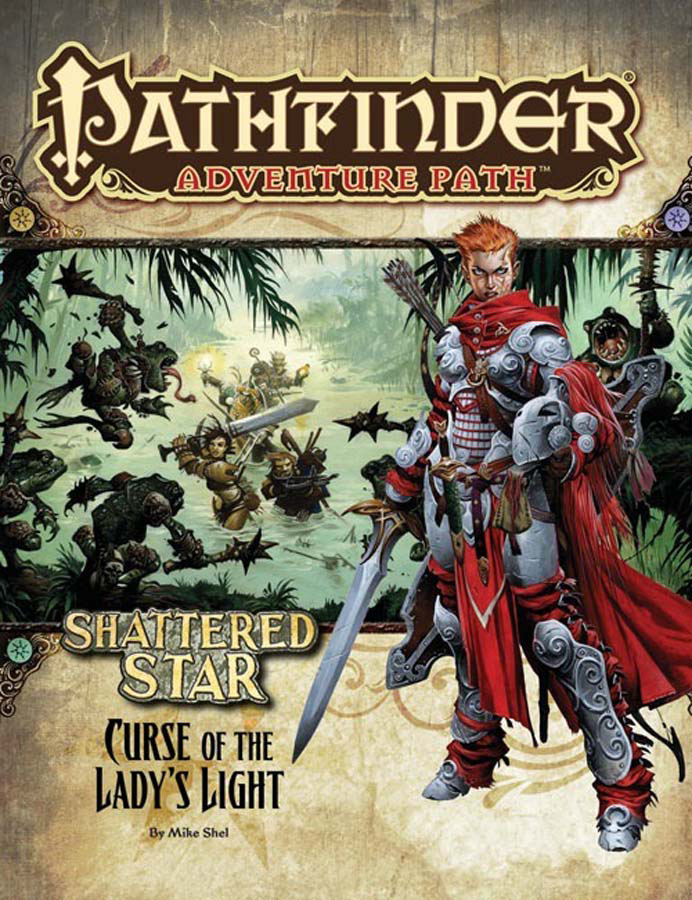 PATHFINDER ADV PATH SHATTERED STAR PT 2 CURSE OF LADY LIGHT