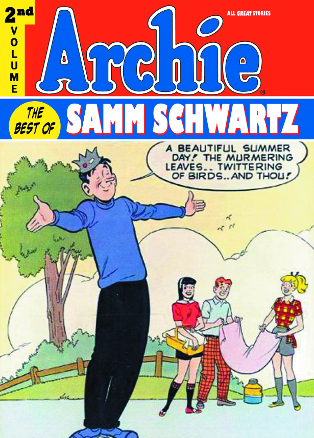 ARCHIE BEST OF SAMM SCHWARTZ HC VOL 02