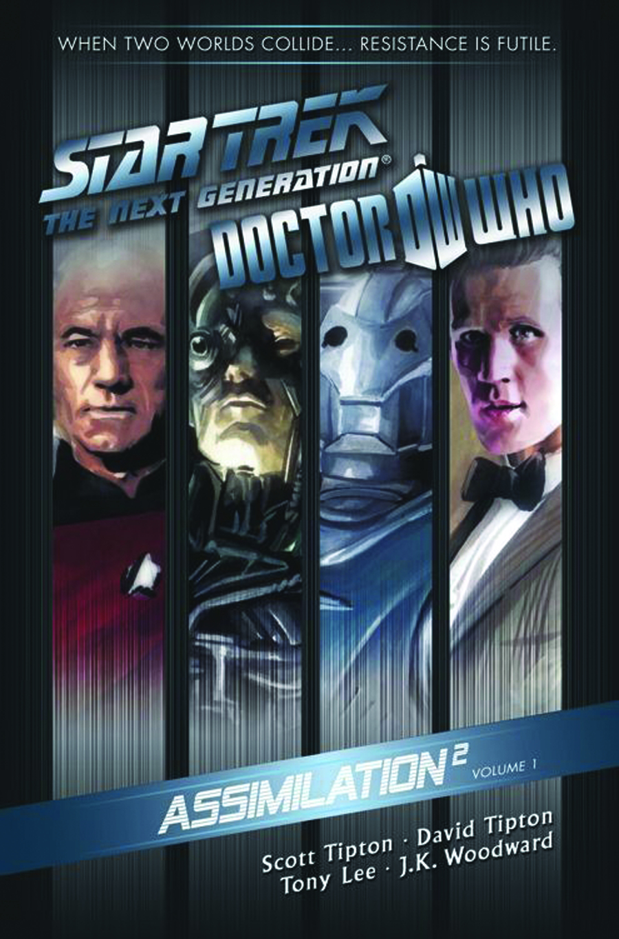 STAR TREK TNG DOCTOR WHO ASSIMILATION TP VOL 01