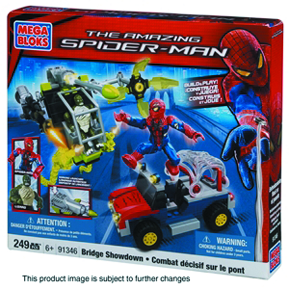 MEGA BLOKS SPIDER-MAN 4 BRIDGE SHOWDOWN SET