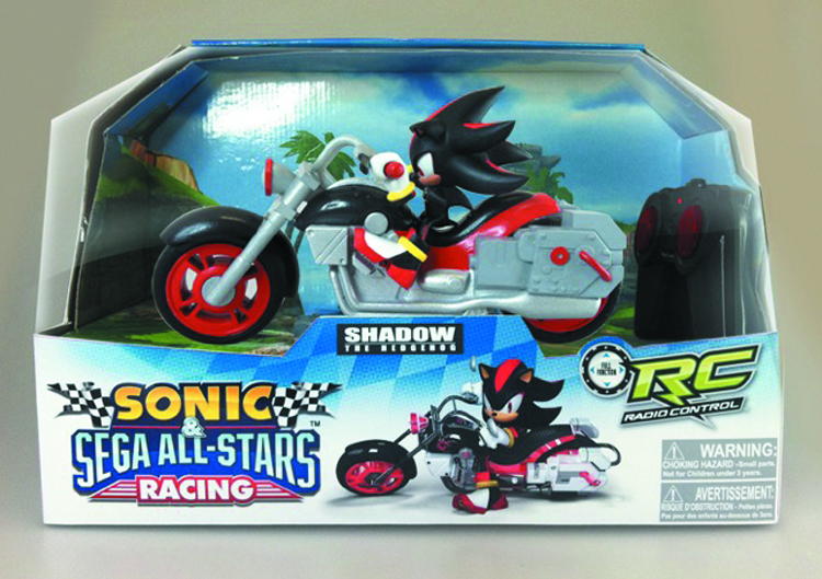 SONIC ALL-STAR KART RACING R/C SHADOW MOTORCYCLE