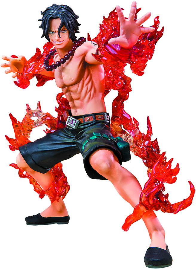 ONE PIECE PORTGAS D ACE FIGUARTS ZERO BAT VER