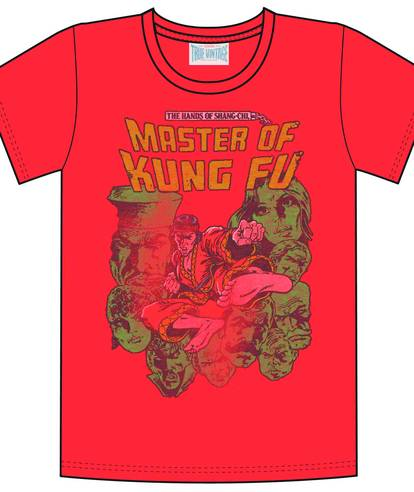 MASTER OF KUNG FU RED PX T/S XXL