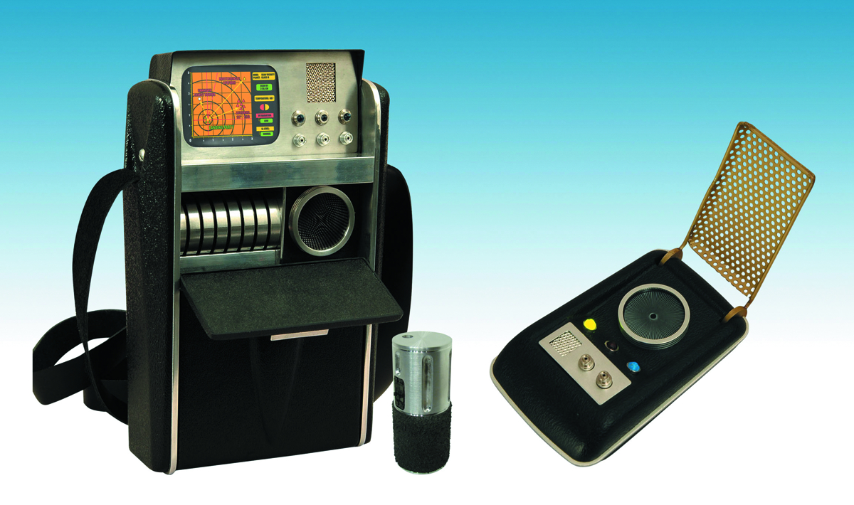 ST TOS COMMUNICATOR & SCIENCE TRICORDER 2-PACK