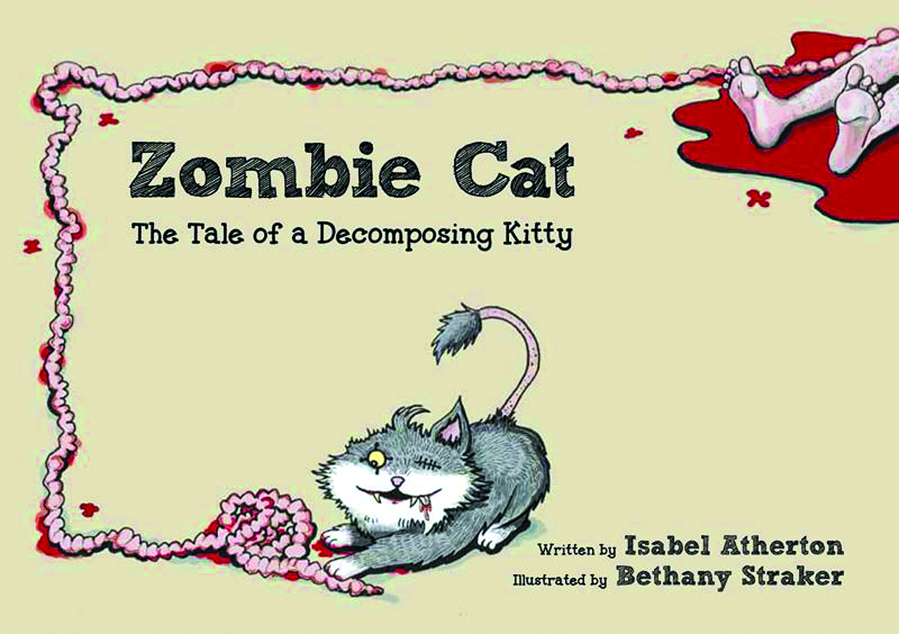 ZOMBIE CAT TALE OF DECOMPOSING KITTY