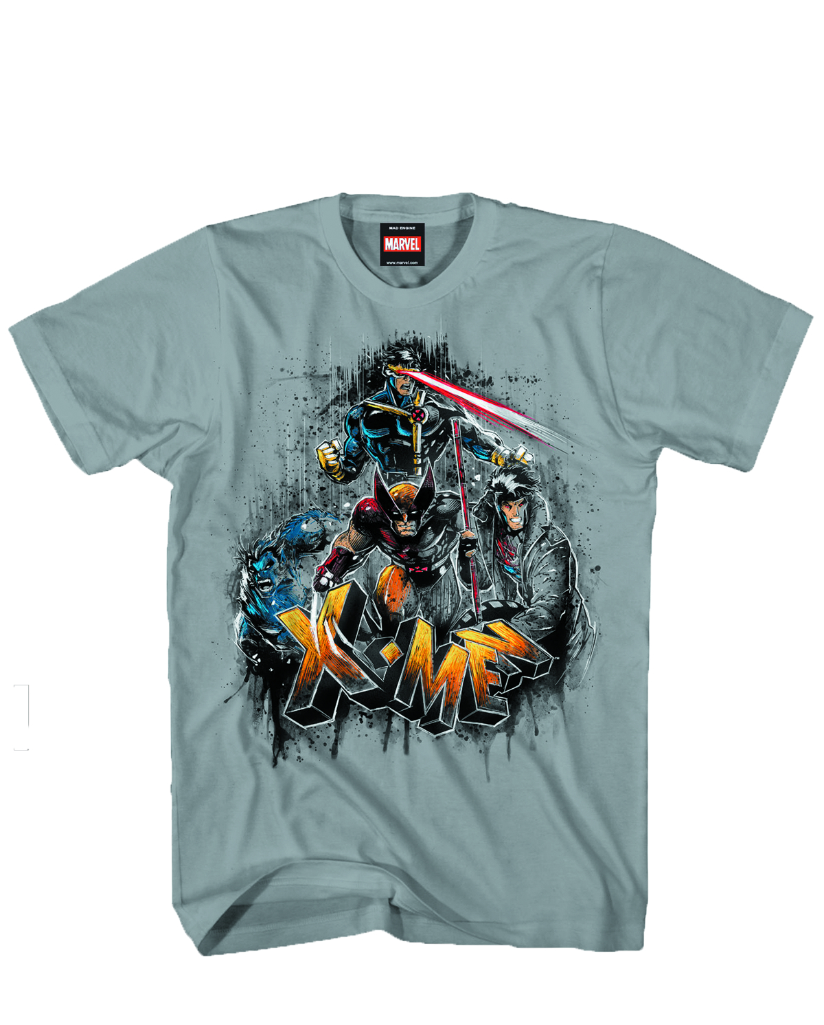 X-MEN X BORN HEATHER T/S XL