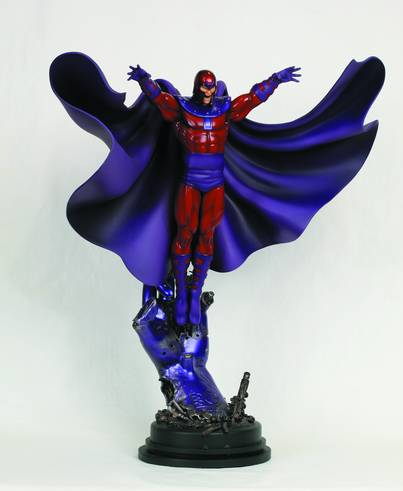 MAGNETO ACTION STATUE