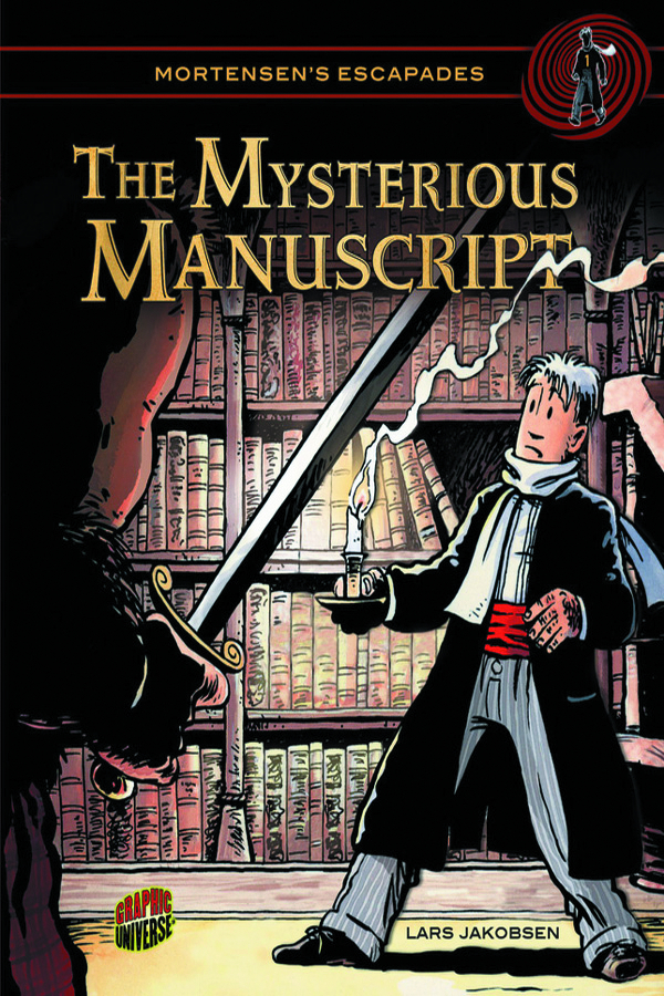 MORTENSENS ESCAPADES GN VOL 01 MYSTERIOUS MANUSCRIPT