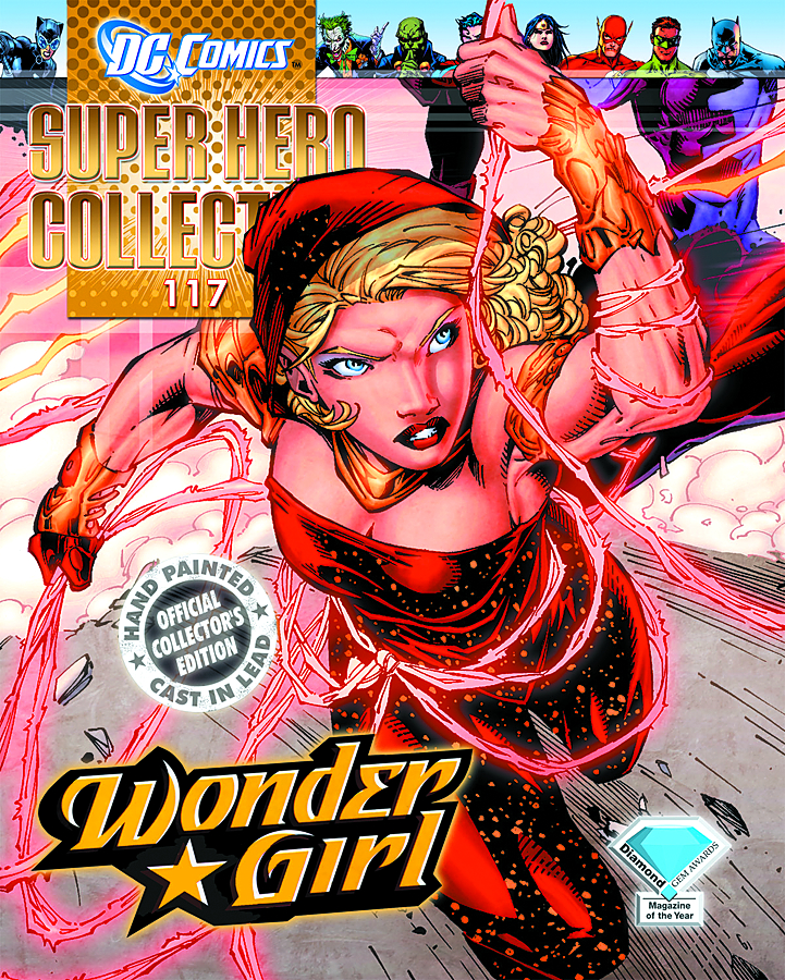 DC SUPERHERO FIG COLL MAG #117 WONDER GIRL