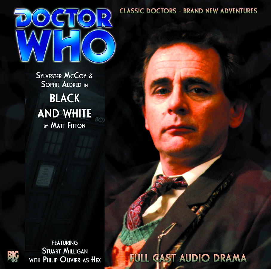 DOCTOR WHO BLACK AND WHITE AUDIO CD