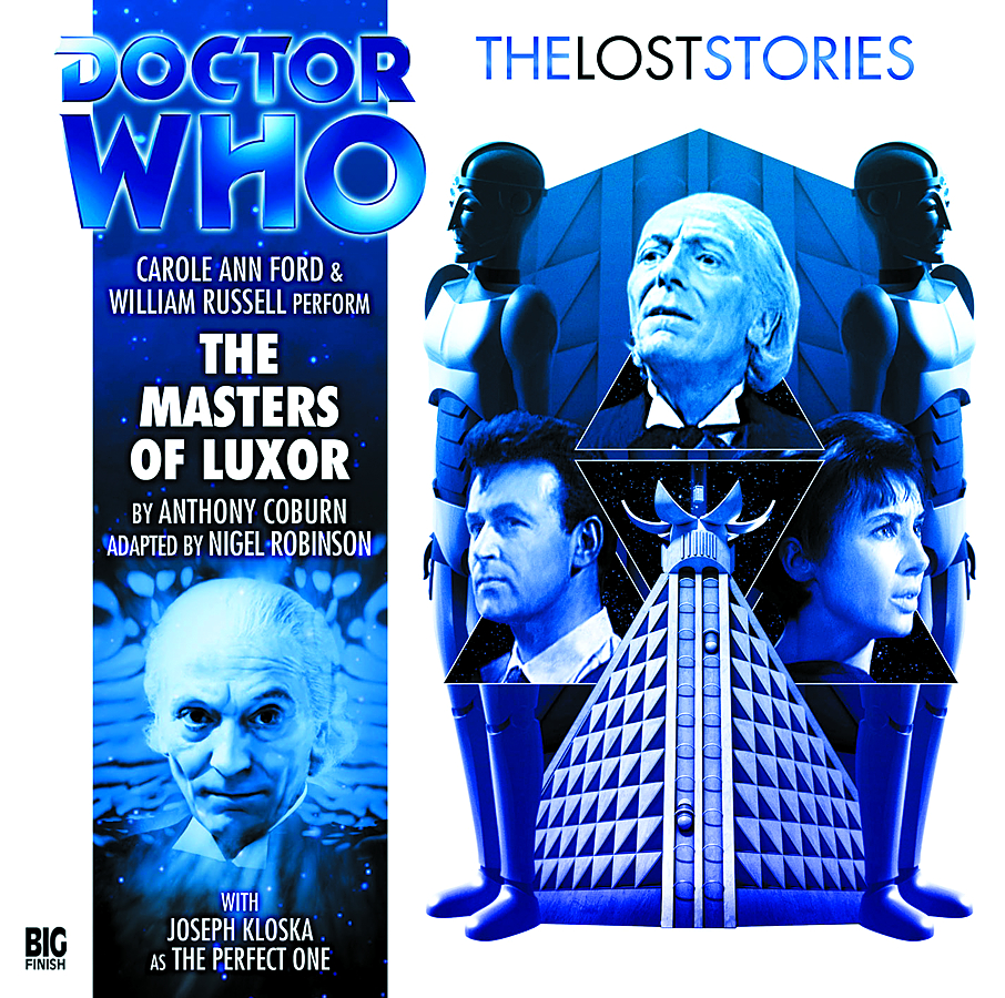 DOCTOR WHO MASTERS OF LUXOR AUDIO CD